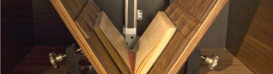 Image Access plaatst boeken in de computer